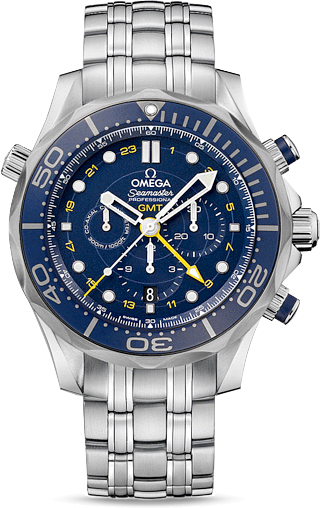 SEAMASTER DIVER 300 M CO-AXIAL GMT CHRONOGRAPH 44 MM