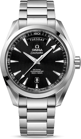 SEAMASTER AQUA TERRA 150 M OMEGA CO-AXIAL DAY-DATE 41.5 MM
