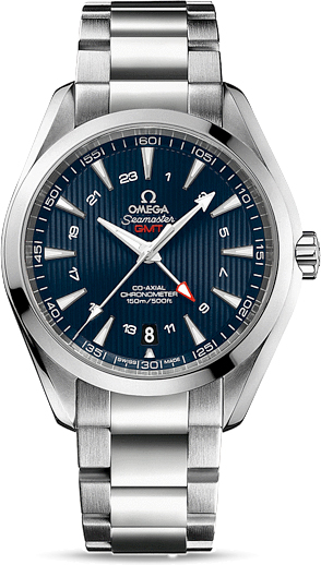 SEAMASTER AQUA TERRA 150 M OMEGA CO-AXIAL GMT 43 MM