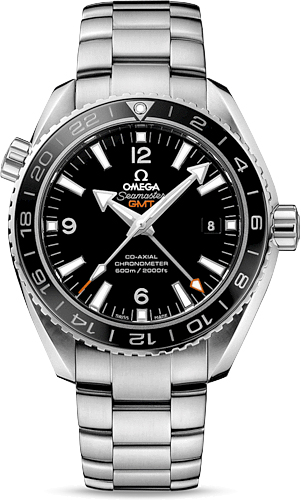SEAMASTER PLANET OCEAN 600 M OMEGA CO-AXIAL GMT 43.5 MM