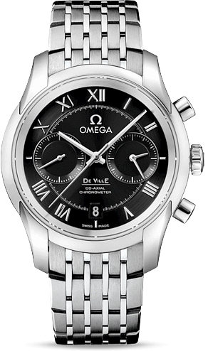 DE VILLE OMEGA CO-AXIAL CHRONOGRAPH 42 MM
