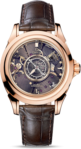 DE VILLE TOURBILLON CO-AXIAL NUMBERED EDITION 38.7 MM