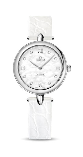 DE VILLE PRESTIGE QUARTZ 27.4 MM DEWDROP 【Ladies】
