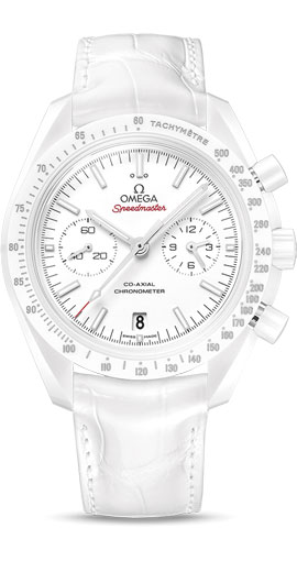 "SPEEDMASTER CO-AXIAL CHRONOGRAPH ""White Side of the Moon"" 44.25 MM"